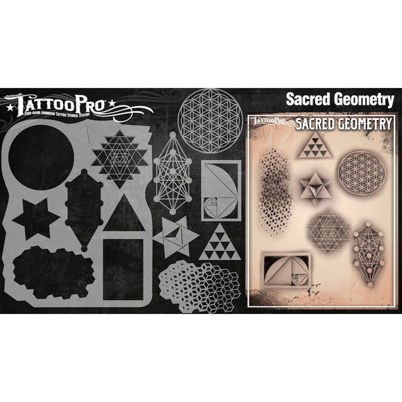 Tattoo Pro Stencils Series 3 - Sacred Geometry