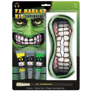 Tinsley Transfers Superhero Big Mouth Kit