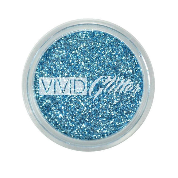 VIVID Glitter Stackable Loose Glitter - Baby Blue (10 gm)