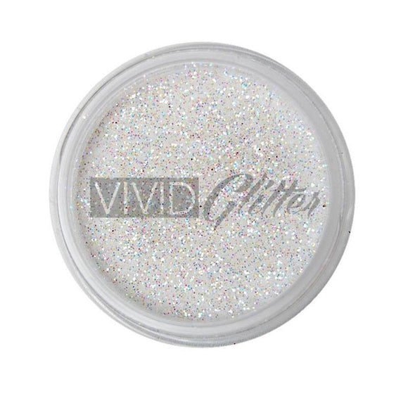 VIVID Glitter Stackable Loose Glitter - White Hologram (10 gm)