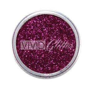 VIVID Glitter Stackable Loose Glitter - Maroon (10 gm)