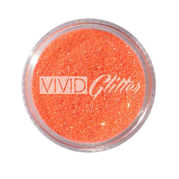 VIVID Glitter Stackable Loose Glitter - Tangerine (10 gm)