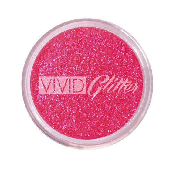 VIVID Glitter Stackable Loose Glitter - Hot Pink (10 gm)
