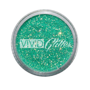 VIVID Glitter Stackable Loose Glitter - Golden Mint (10 gm)