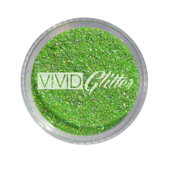 VIVID Glitter Stackable Loose Glitter - Galaxy Green (10 gm)
