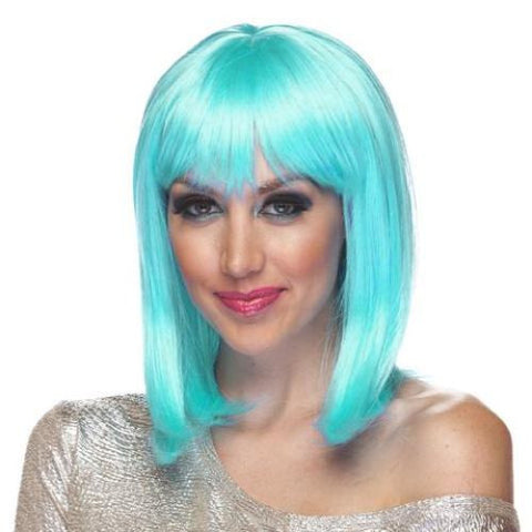Doll Wig - Light Blue