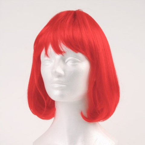 Party Page Wig - Red