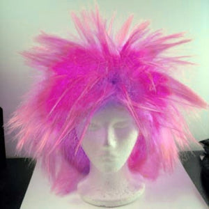 Wig America Loca Small Clown Wig - Pink Blend