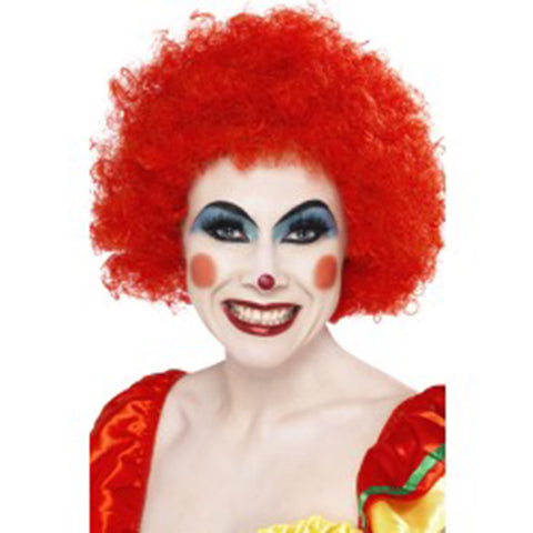 Crazy Curly Clown Wig - Red