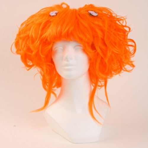 Karmae Wig - Neon Orange