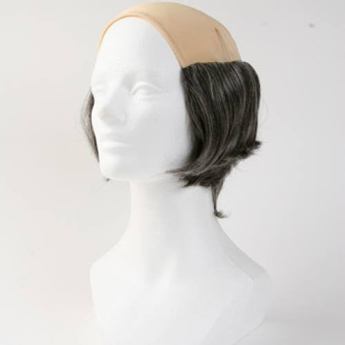 Short Tramp Bald Wig - Gray