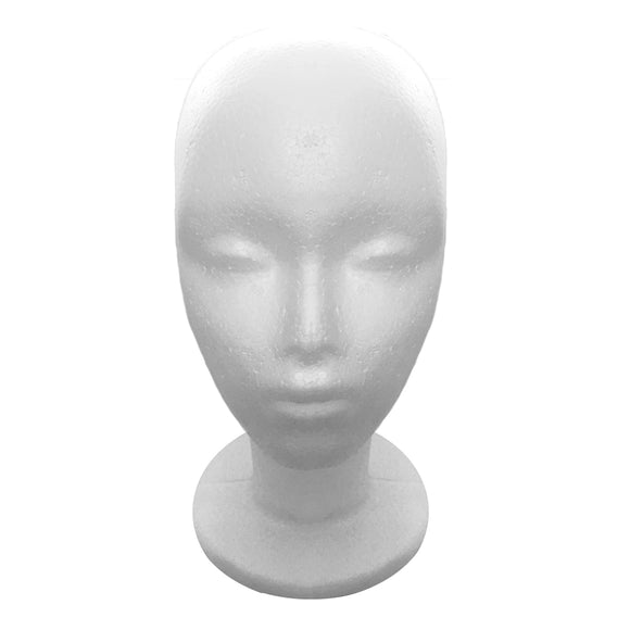 Styrofoam Head - Short Wig (12