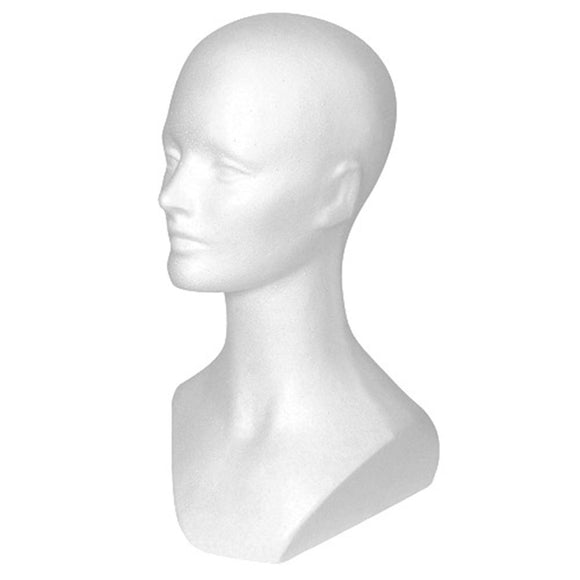 Hairess Corporation Styrofoam Head (15 1/2