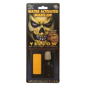 Wolfe FX Yellow Water Based Makeup w/ Applicator (9 gm)