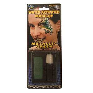 Wolfe FX Metallic Green Water Based Makeup w/ Applicator (9 gm)