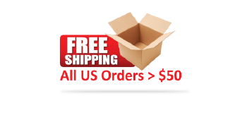 Free Shipping On All US Orders $50 or more!