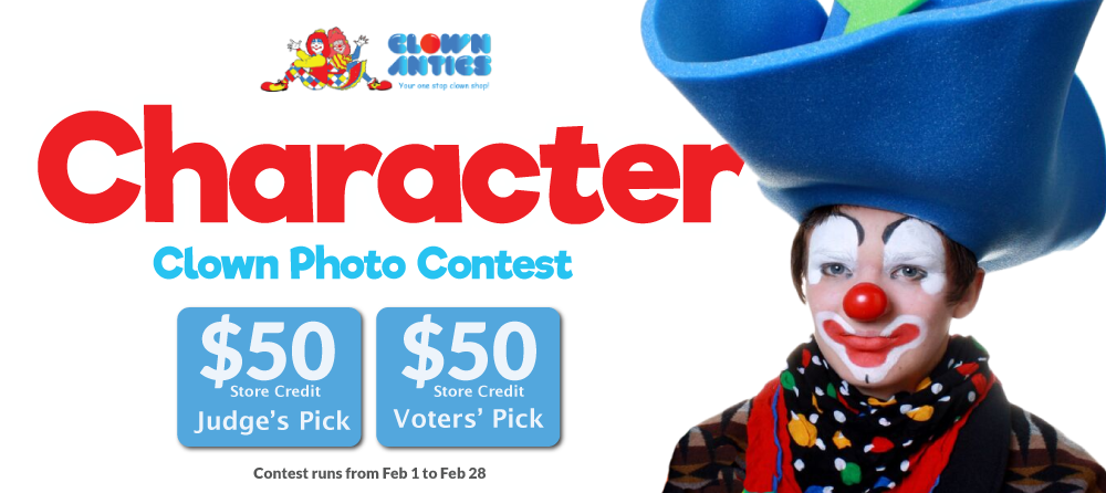 Character Clown Photo Contest
