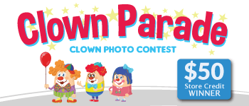 Clown Parade Photo Contest