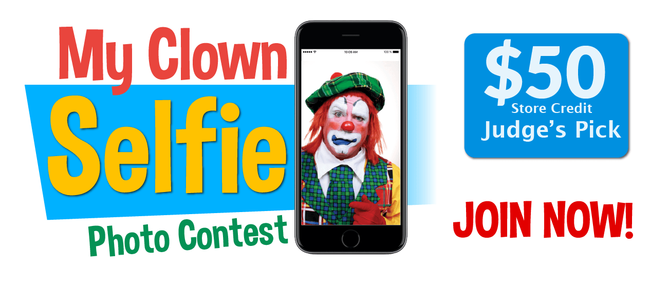 Clown Selfie Contest