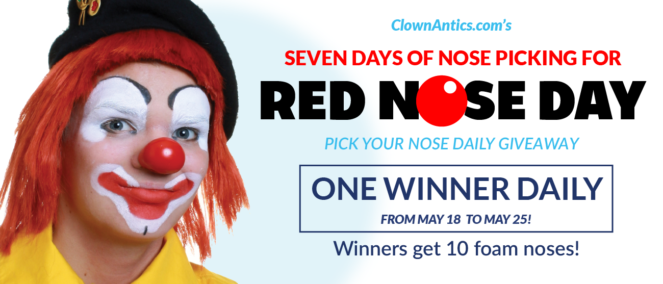 Red Nose Day - Daily Nose Giveaway