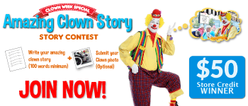 Amazing Clown Story Contest