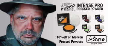 10% Off on all Mehron INtense Pressed Powder (Intense)