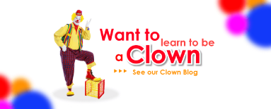 Learn how to be a Clown with our Clown Blog!