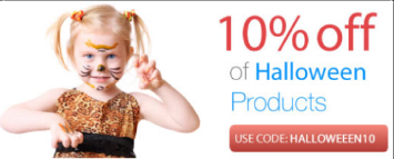 10% Off on all Halloween Products (halloweeen10)