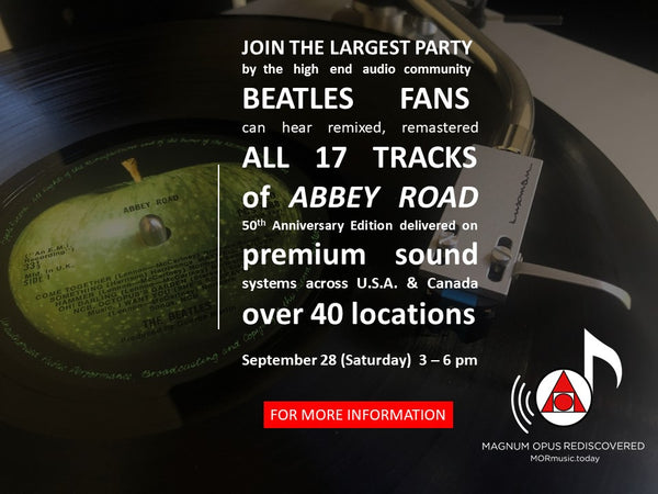 A Walk Down Abbey Road -- Special Event!