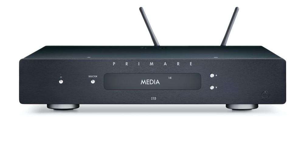 Primare I15 Prisma integrated amp and network player - Alma Music and Audio - San Diego, California