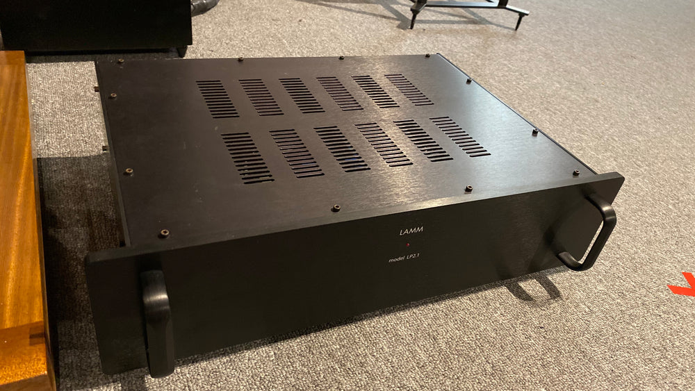 LAMM LP2.1 Deluxe Phono Stage [Previously Owned] - Alma Music and Audio - San Diego, California