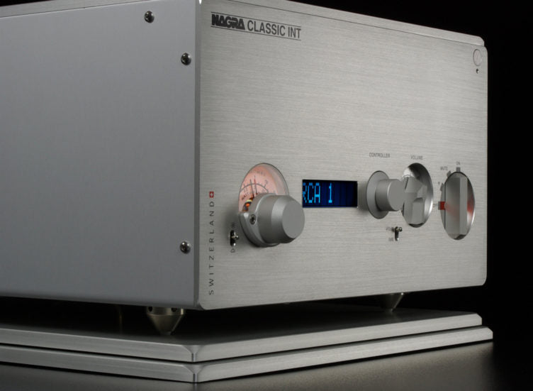 Nagra Classic INT Integrated Amplifier - Alma Music and Audio - San Diego, California