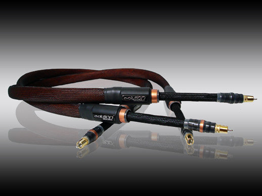 Evolution Acoustics TRIC / TRXL Interconnect Cables - Alma Music and Audio - San Diego, California