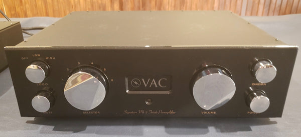 VAC Signature Mk IIa SE Preamp with Phono [Previously Owned]