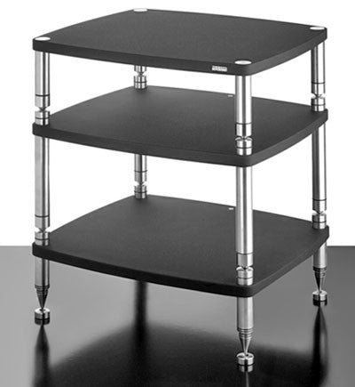 SolidSteel HF-3 Three-shelf modular Rack - Alma Music and Audio - San Diego, California