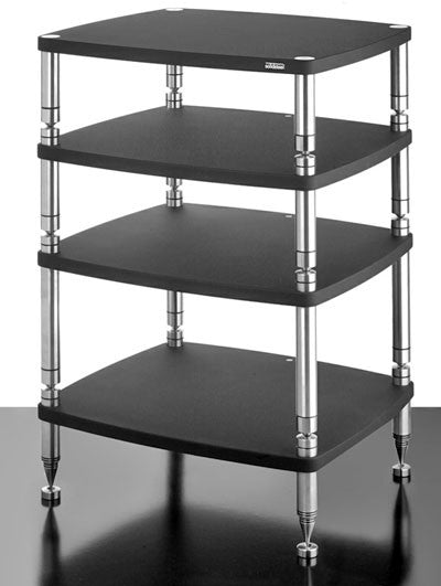 SolidSteel HF-4 Four-shelf modular Rack - Alma Music and Audio - San Diego, California