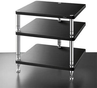 SolidSteel HJ-3 Three-shelf modular Rack - Alma Music and Audio - San Diego, California