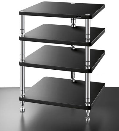 SolidSteel HJ-4 Four-shelf modular Rack - Alma Music and Audio - San Diego, California