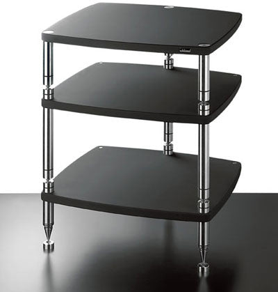 SolidSteel HS-3 Three-shelf modular Rack - Alma Music and Audio - San Diego, California