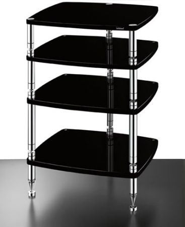 SolidSteel HS-4 Four-shelf modular Rack - Alma Music and Audio - San Diego, California