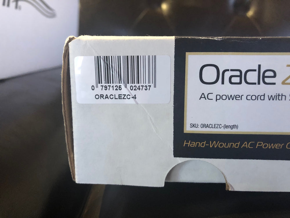MIT Oracle Z-Cord Reference Power Cord with 4 meters [Previously Owned]