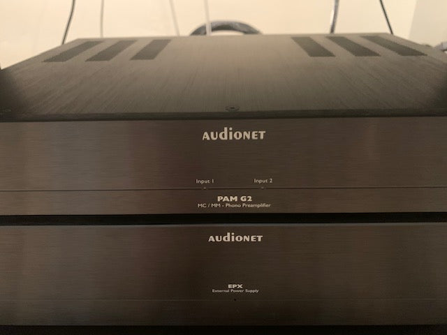 Audionet PAM G2 Phono preamplifier with EPX Power Supply [Previously Owned]