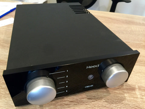 Heed Audio Obelisk Integrated Amp w/ X2 Power Supply - Alma Music and Audio - San Diego, California