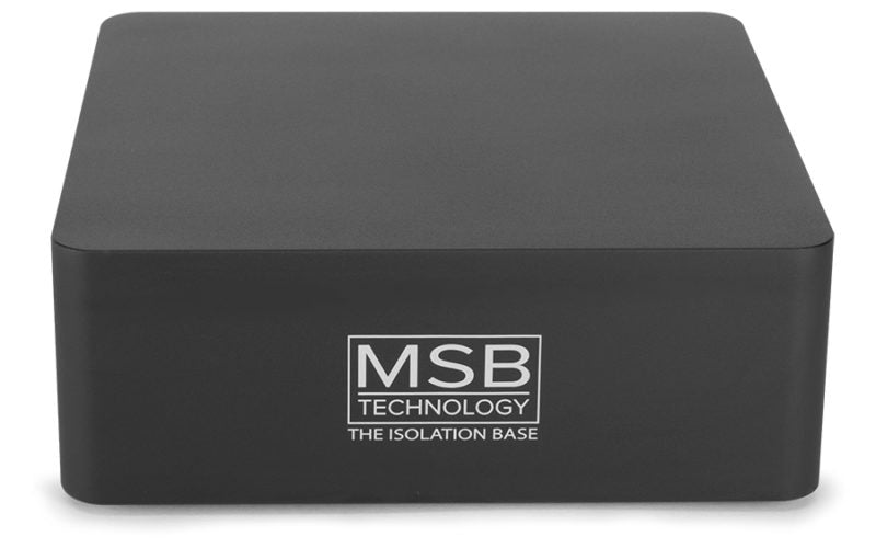MSB Isolation Base - Alma Music and Audio - San Diego, California