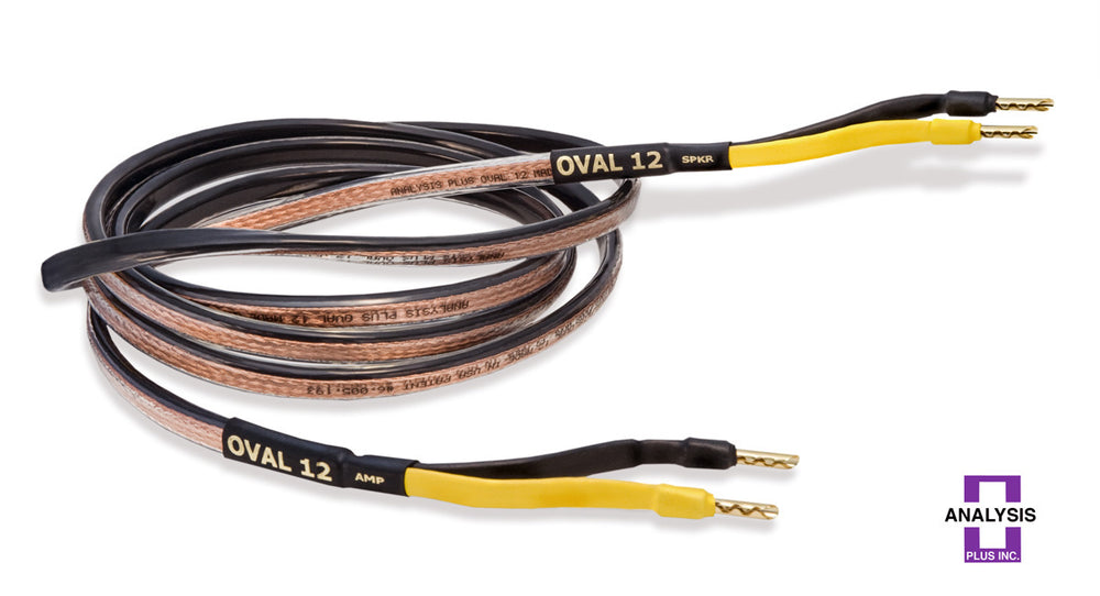 Analysis Plus Black Oval 12 Speaker Cable - Alma Music and Audio - San Diego, California