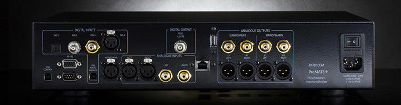 DEQX PreMate+ Preamp / DAC / Processor - Alma Music and Audio - San Diego, California