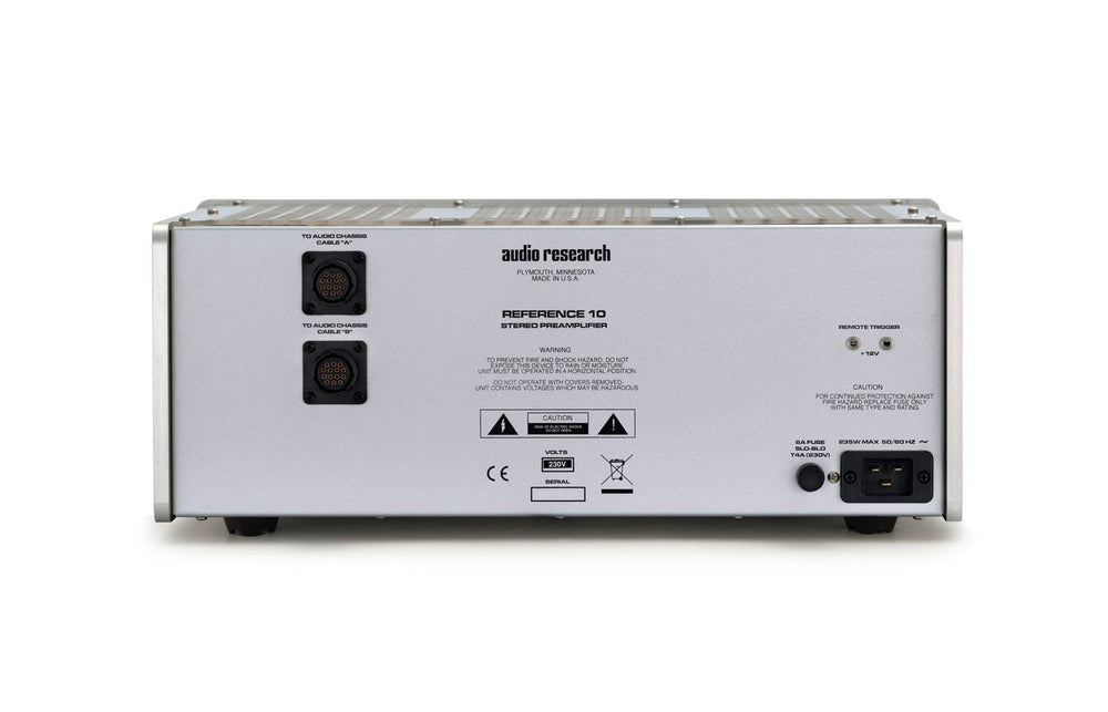 Audio Research Reference 10 Reference Line Stage Preamplifier [Demo - Full Warranty] - Alma Music and Audio - San Diego, California