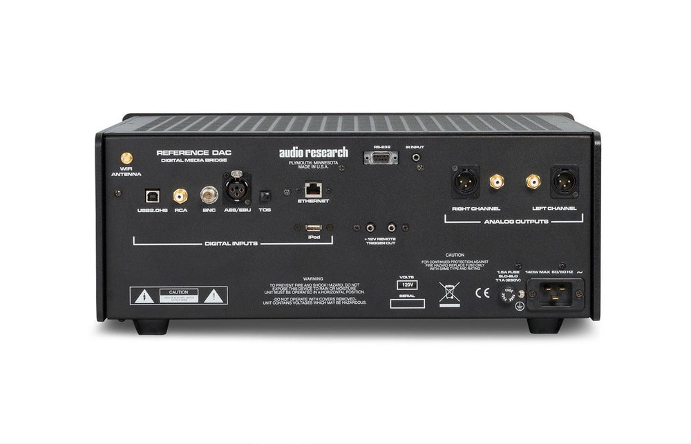 Audio Research Reference DAC Digital Media Bridge - Alma Music and Audio - San Diego, California