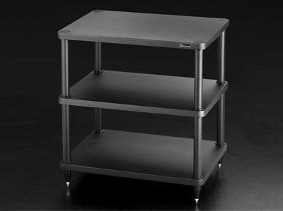 SolidSteel S3-3 Three-shelf Modular Rack - Alma Music and Audio - San Diego, California
