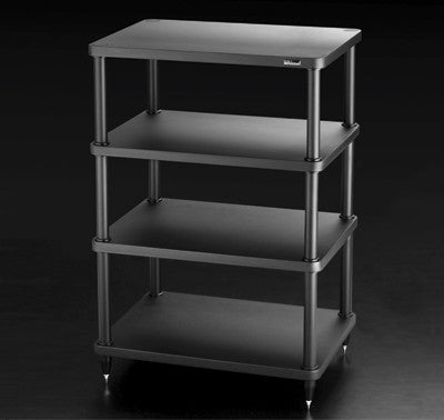 SolidSteel S3-4 Four-shelf Modular Rack - Alma Music and Audio - San Diego, California